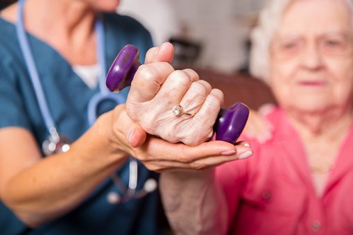 Muscle Rehabilitation for Post-Stroke Patients